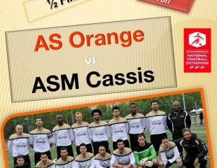 AS ORANGE vs ASM Cassis