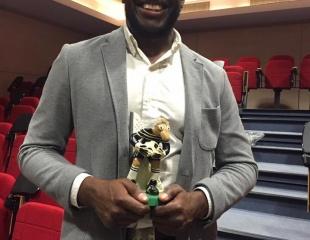 Yannick MANDABA particuilèrement récompensé !